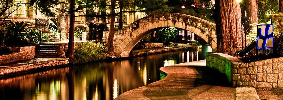 Riverwalk at Night